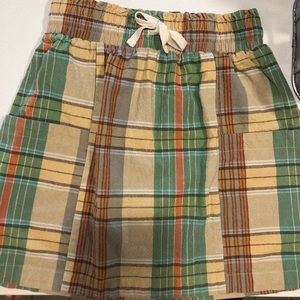 Plaid Urban Outfitters Skirt with Pockets Small